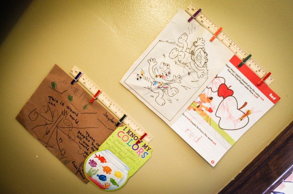 DIY Kids Artwork Display (7 of 9)