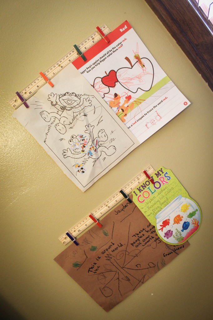 DIY Kids Artwork Display (8 of 9)