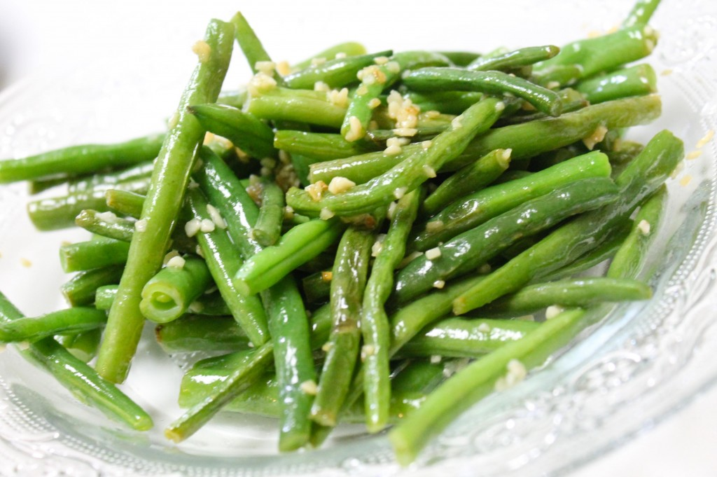 recipe: fresh green beans in skillet [11]