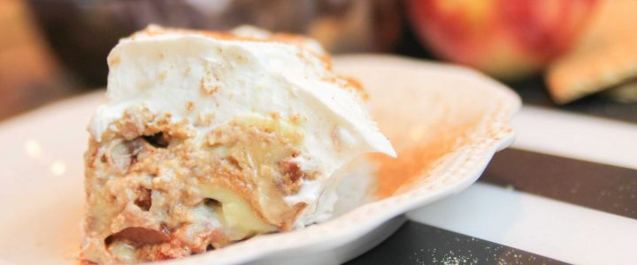 Apple Cinnamon & Cream IceBox Cake