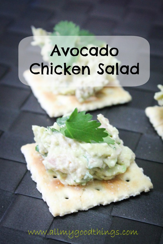 Avocado Cilantro Chicken Salad