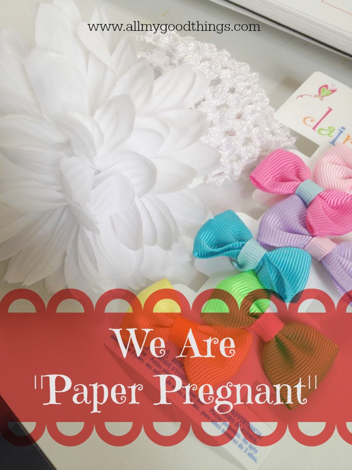 We Are Paper Pregnant!