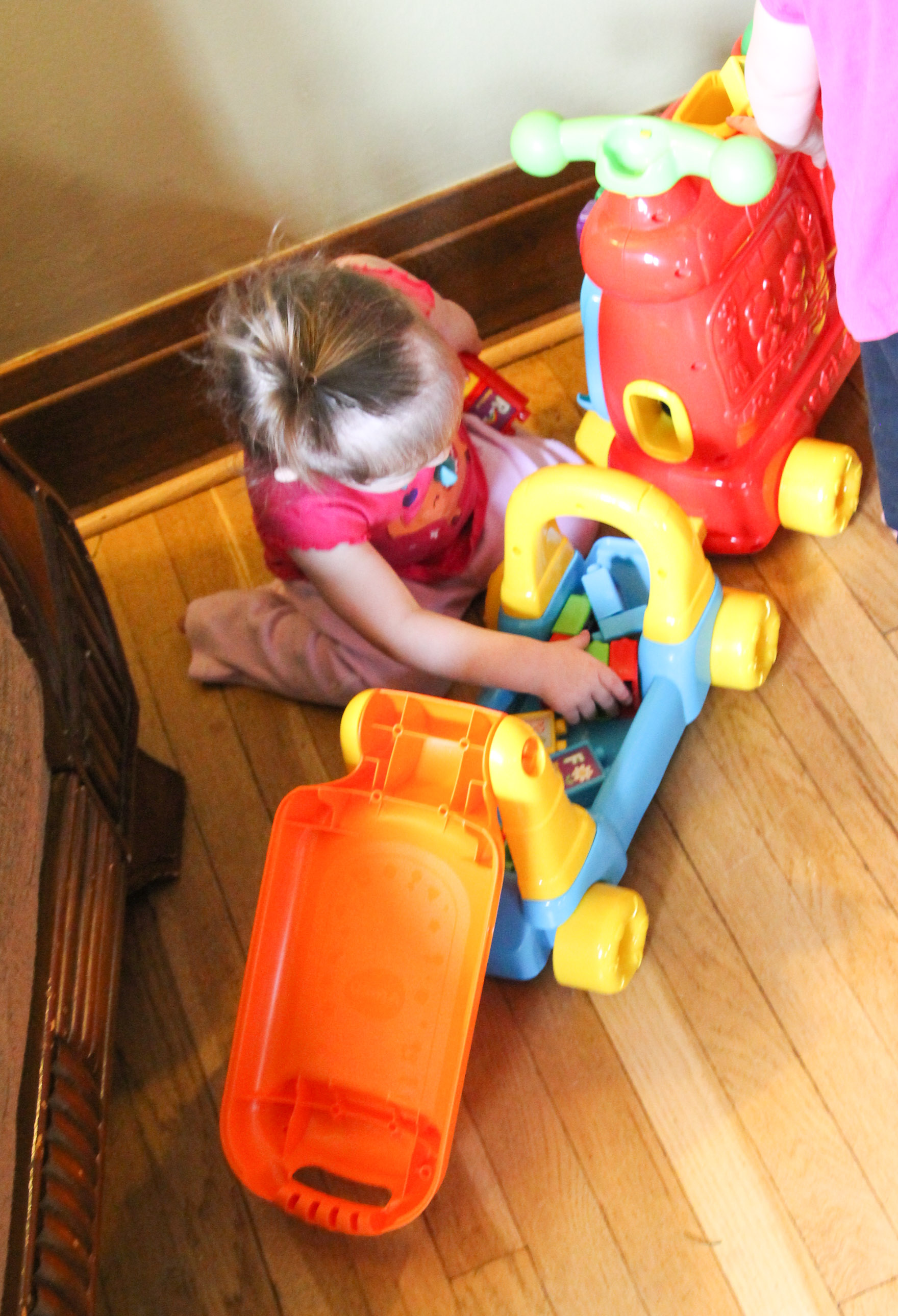 Get on the Learning Train with VTech Sit-to-Stand Ultimate Alphabet Train (plus Giveaway)