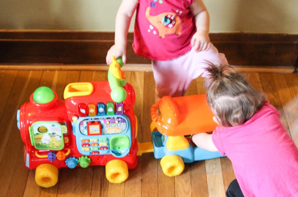 Playtime learning with VTech -8