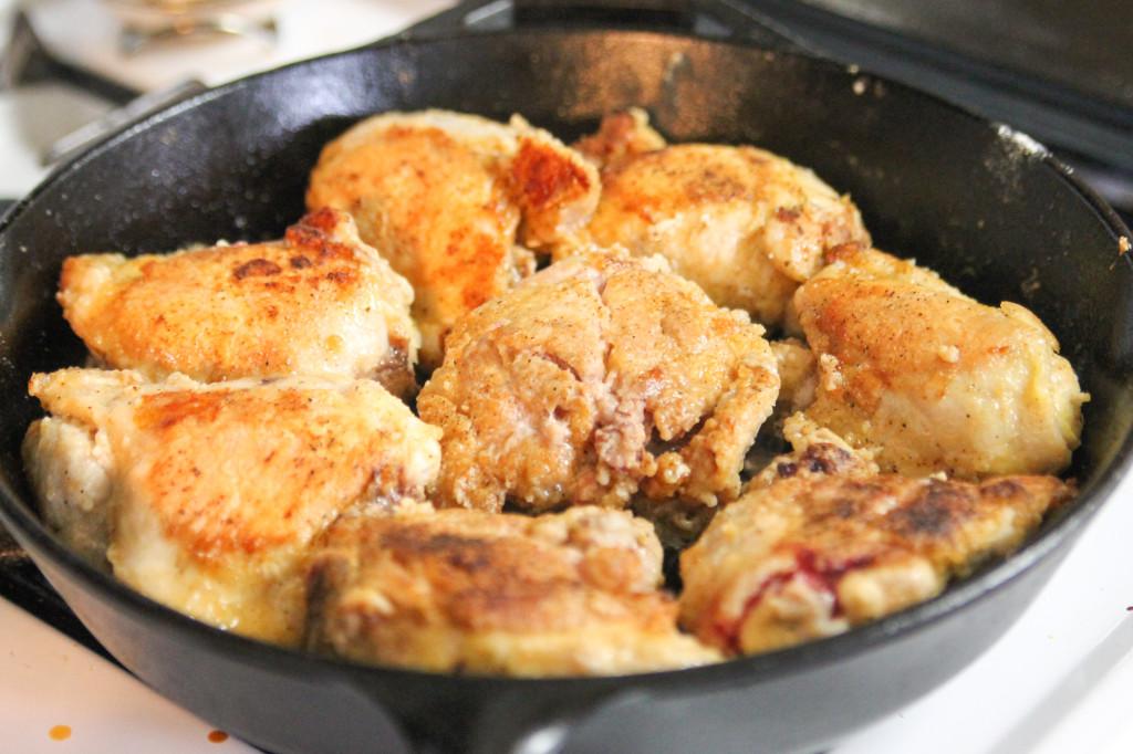 Honey BBQ Skillet Chicken-1