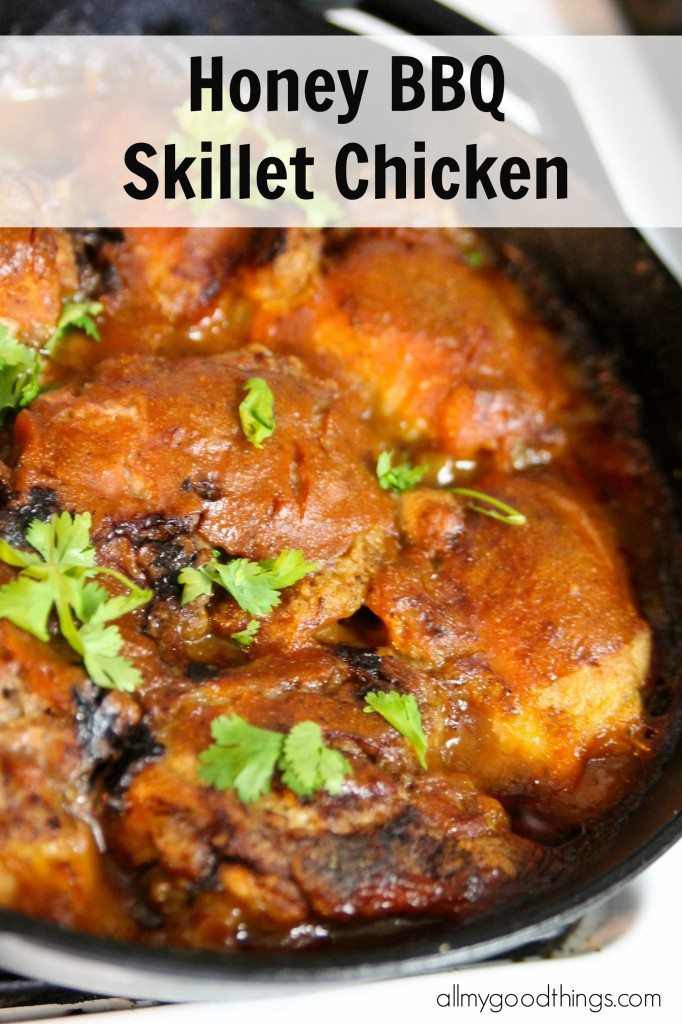 Honey BBQ Skillet Chicken
