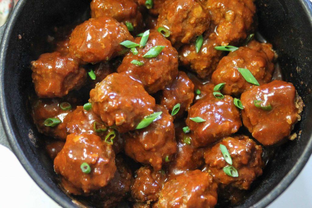 BBQ Venison Meatballs-3