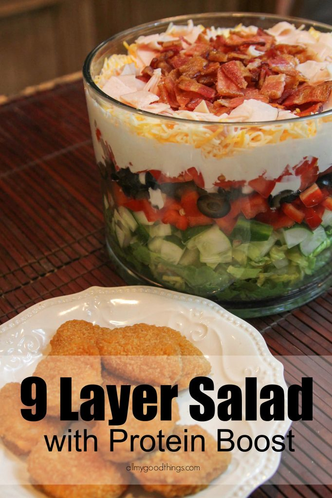 9 Layer Salad-12