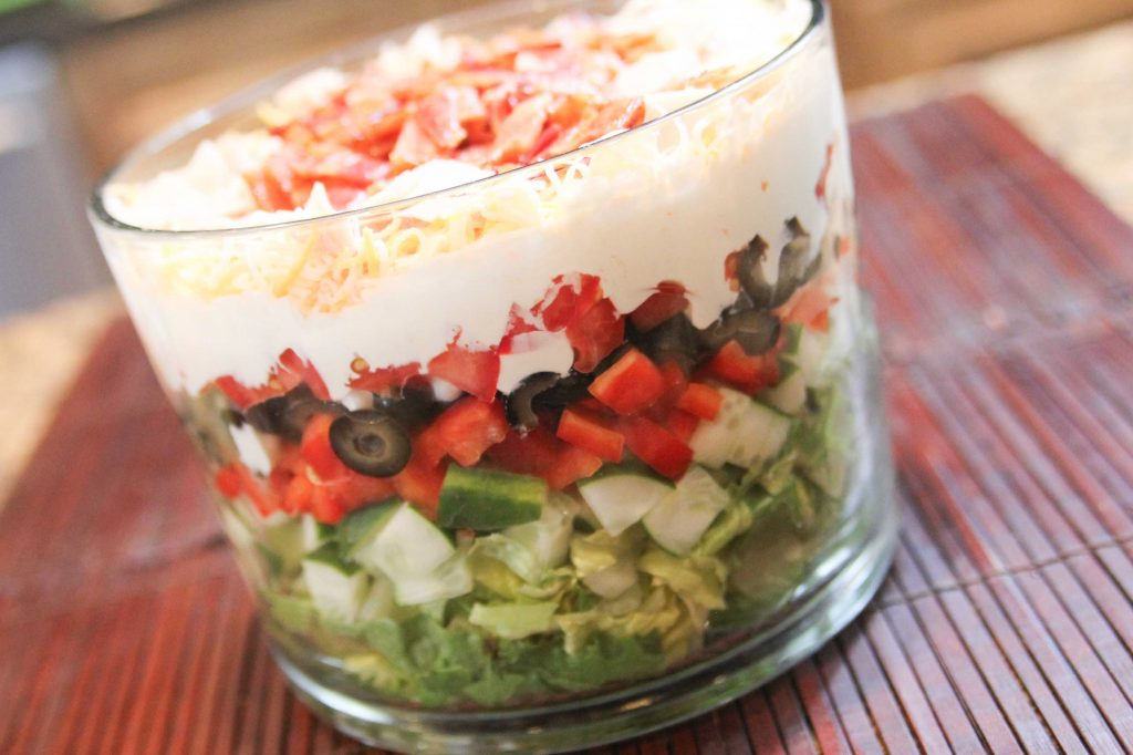 9 Layer Salad-4