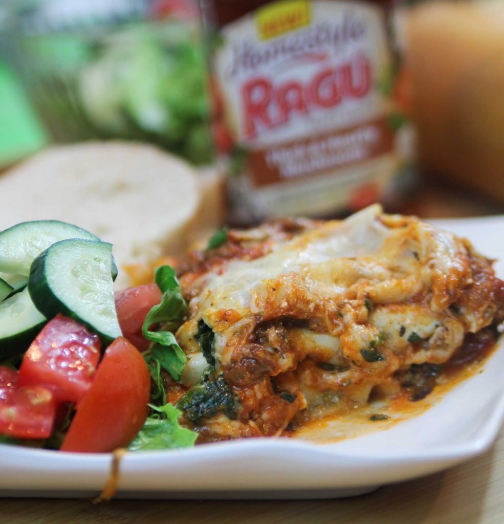 Ragu Homestyle Four Cheese Lasagna-2