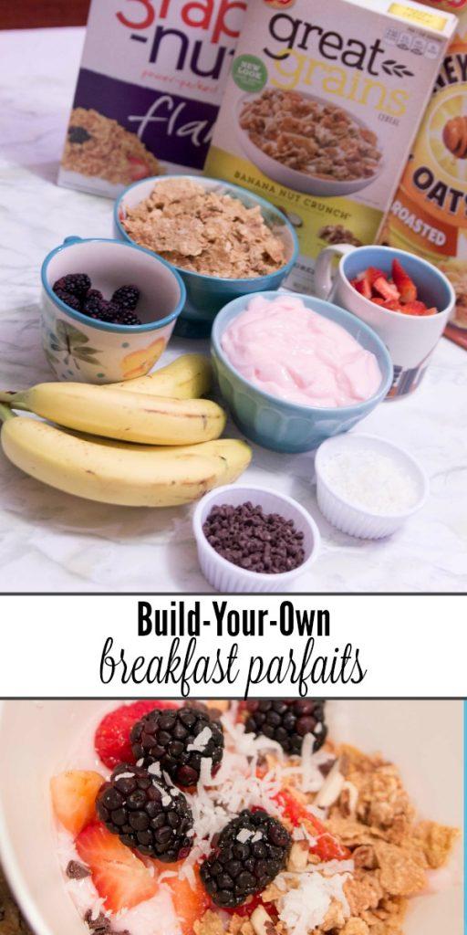 breakfast parfaits