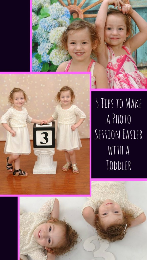 5 Tips to Make a Photo Session Easier with a Toddler
