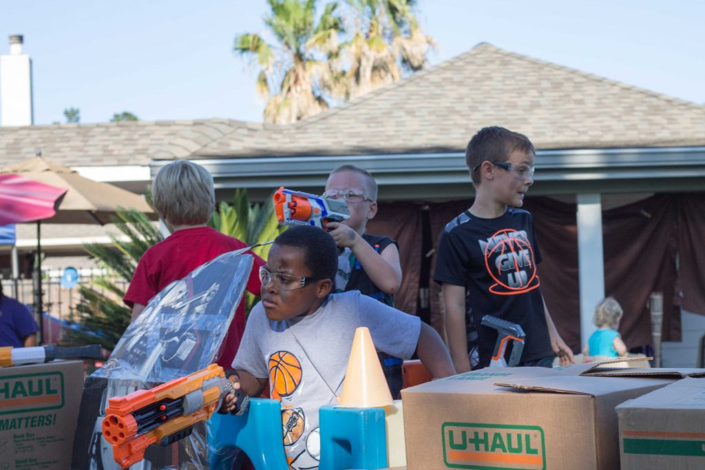 Nerf War Birthday Party-19