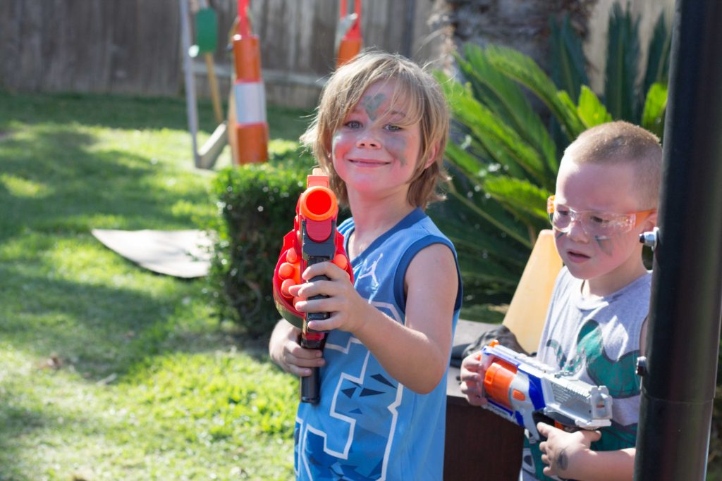Nerf War Birthday Party-8