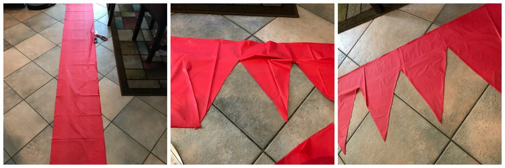 Table Cloth Pennant Banner