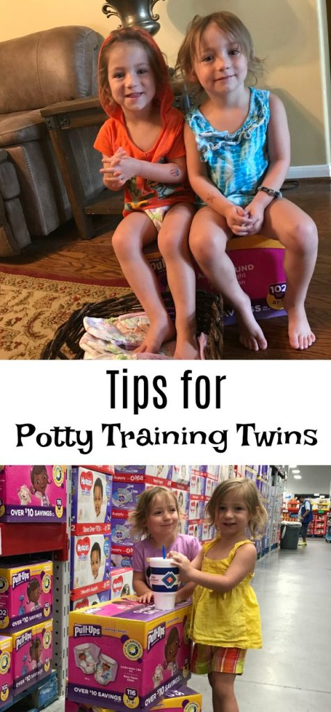 Tips for Potty Training Twins
