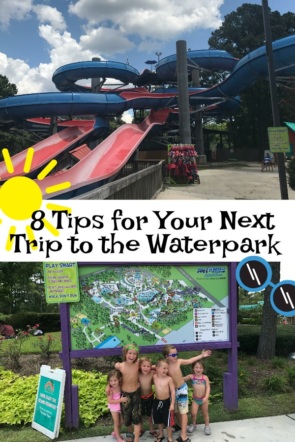 Tips for your trip to the waterpark