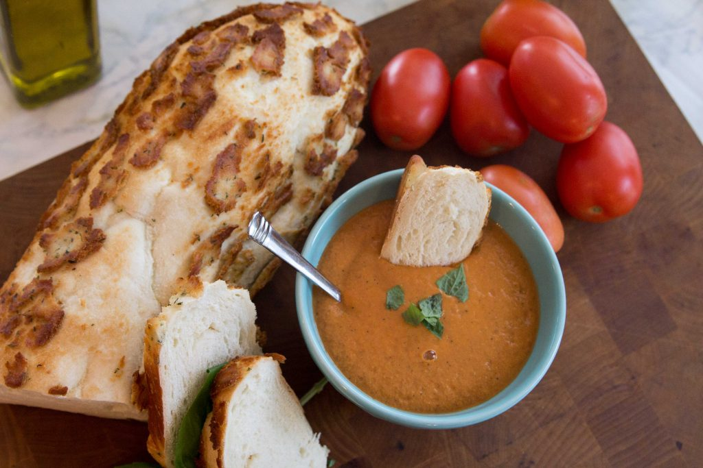 Blender Roasted Tomato Soup-1
