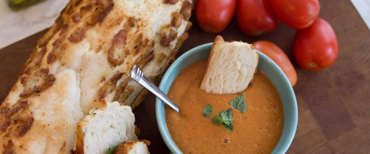 Easy Blender Roasted Tomato Soup
