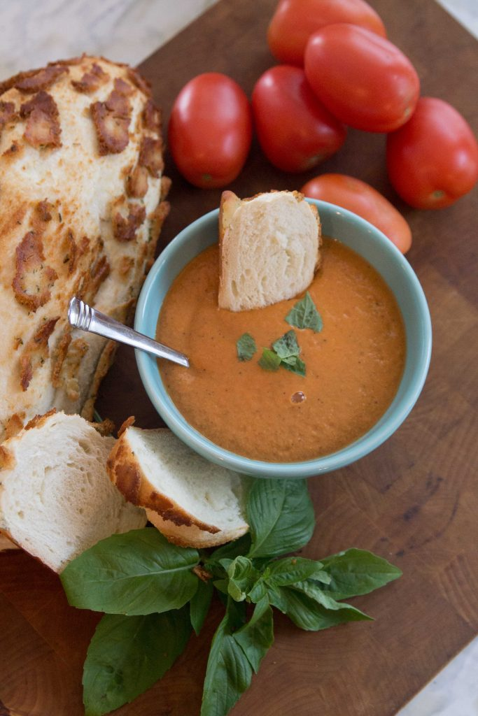 Blender Roasted Tomato Soup-3