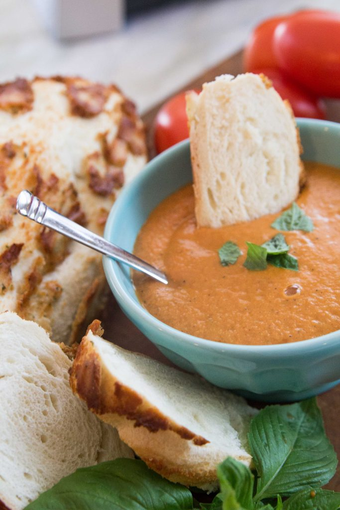 Blender Roasted Tomato Soup-7