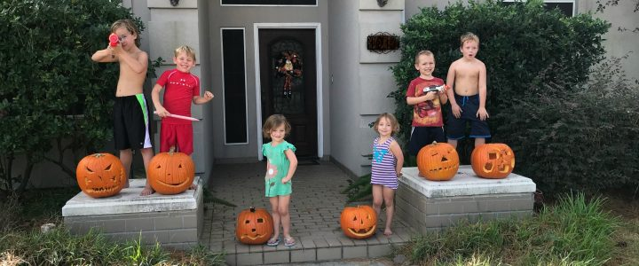 October and Halloween Fun