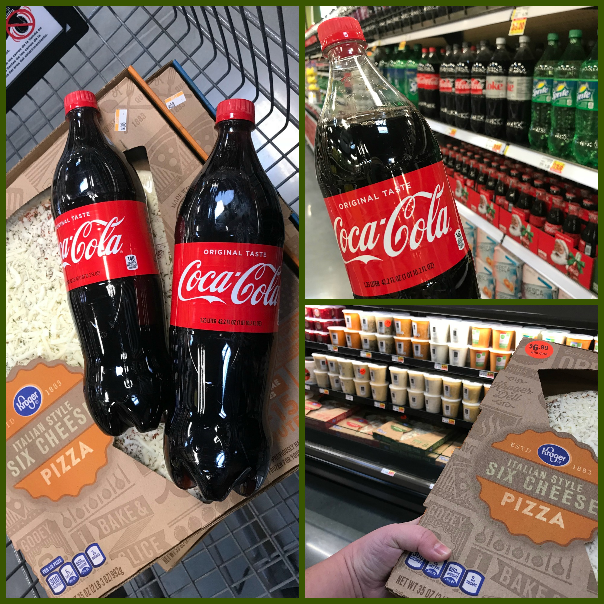 Gift Mom a Night off with Coca-Cola & Kroger Fresh Ready to Heat Pizza