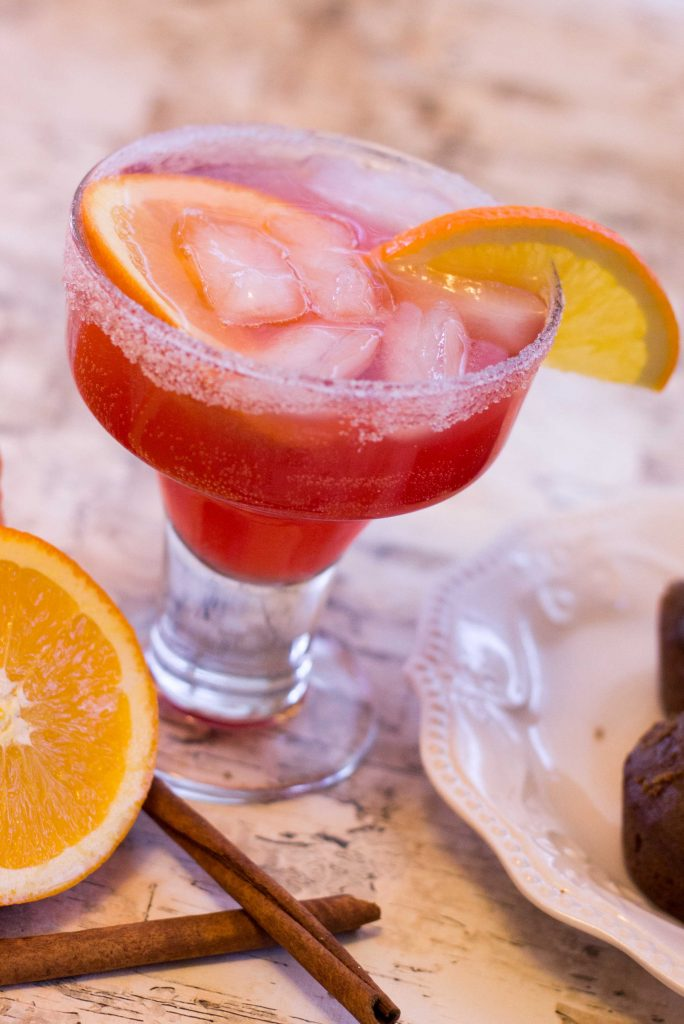 Spiced Cranberry Orange Mocktail-1