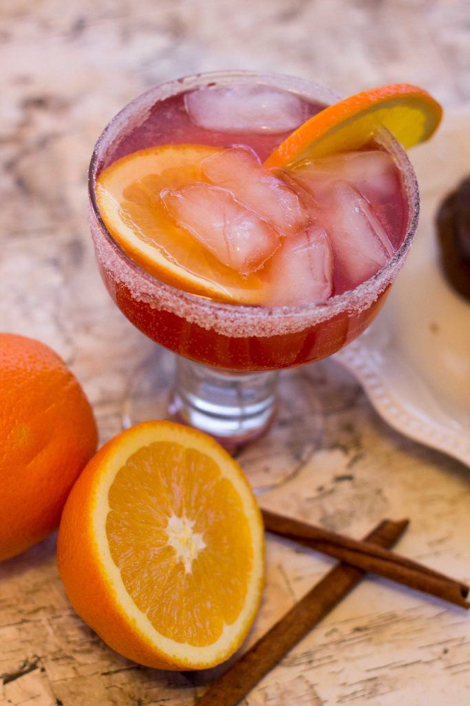 Spiced Cranberry Orange Mocktail-3