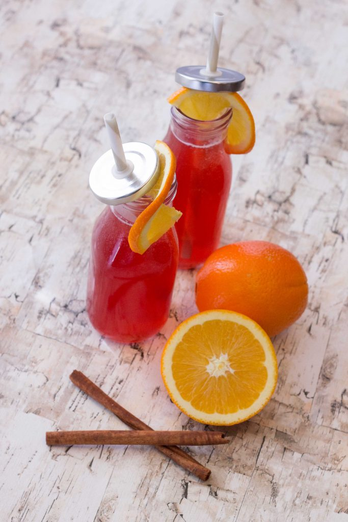Spiced Cranberry Orange Mocktail-4