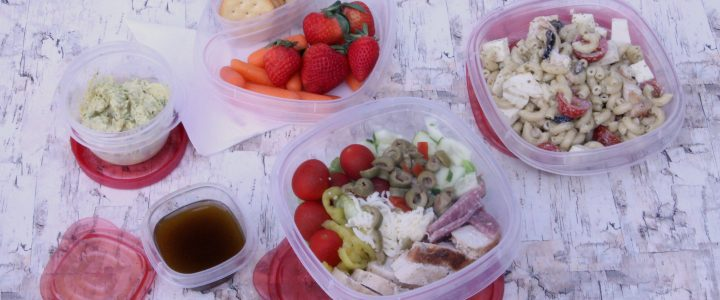 Three Easy Tyson Chicken Lunches you can prep ahead for the week.