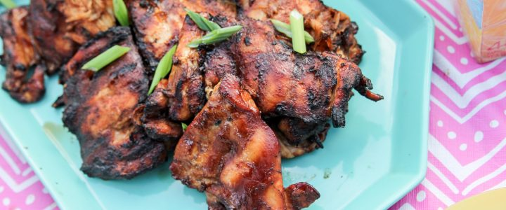 Summer Dinner Twist – Mango Iced Tea & Hawaiian BBQ Chicken