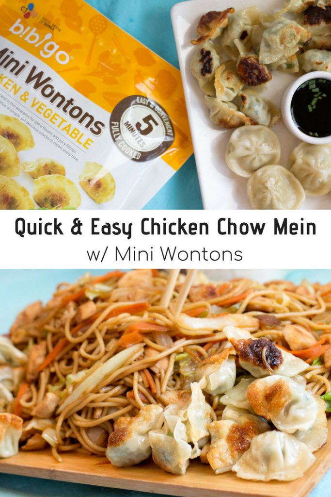 Quick & Easy Chicken Chow Mein