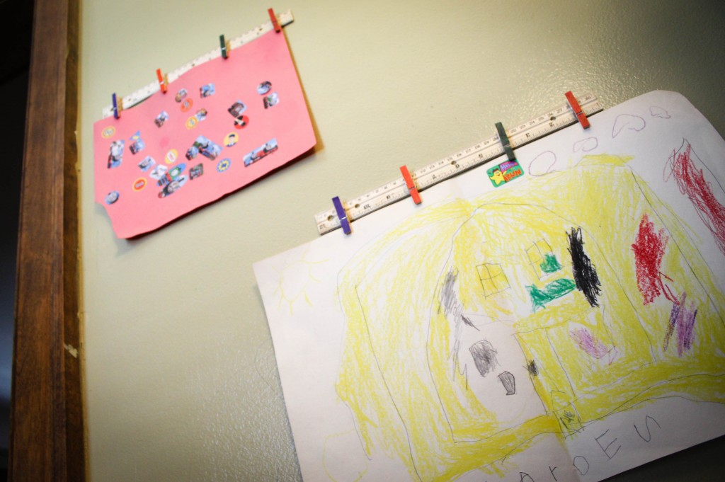 DIY Kids Artwork Display (9 of 9)