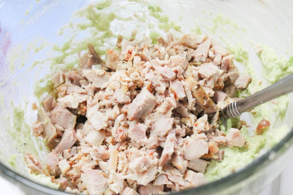 Avocado Chicken Salad-4