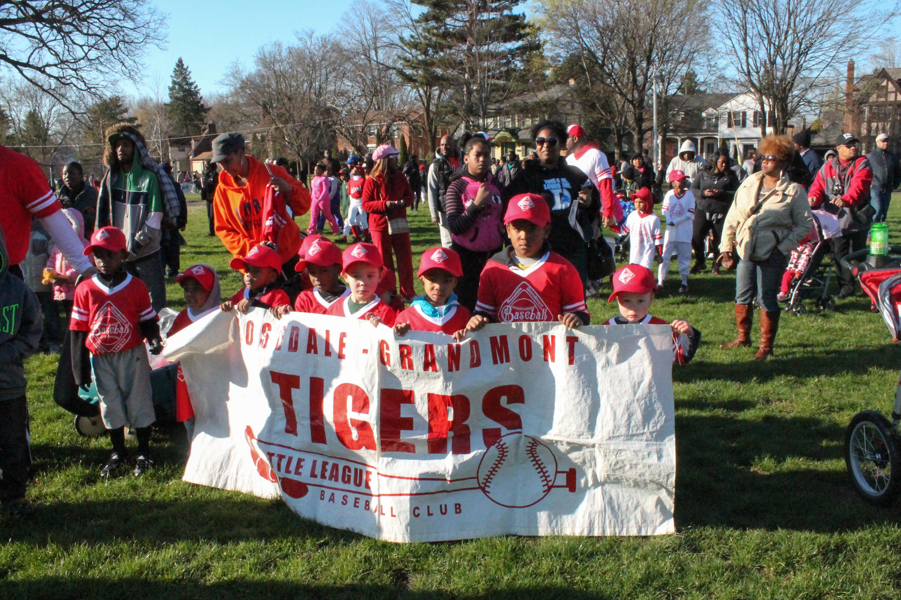 T-Ball Opening Day 2014