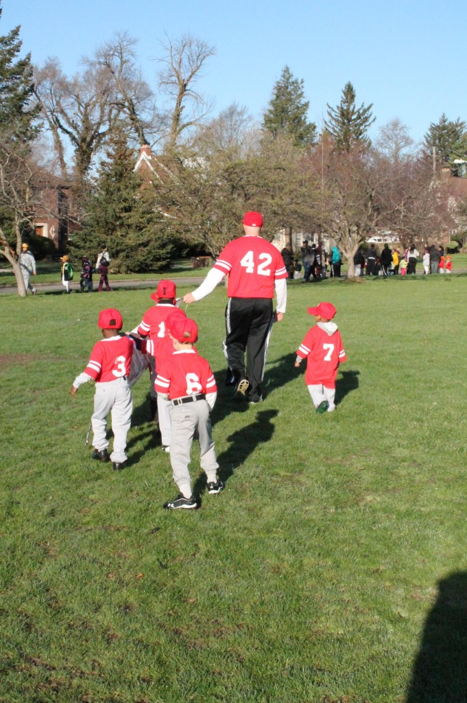 Opening Day TBall 2014-2