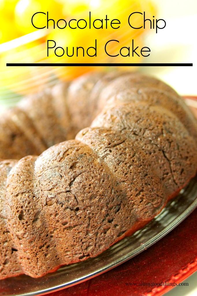Chocolate Chip Pound Cake-