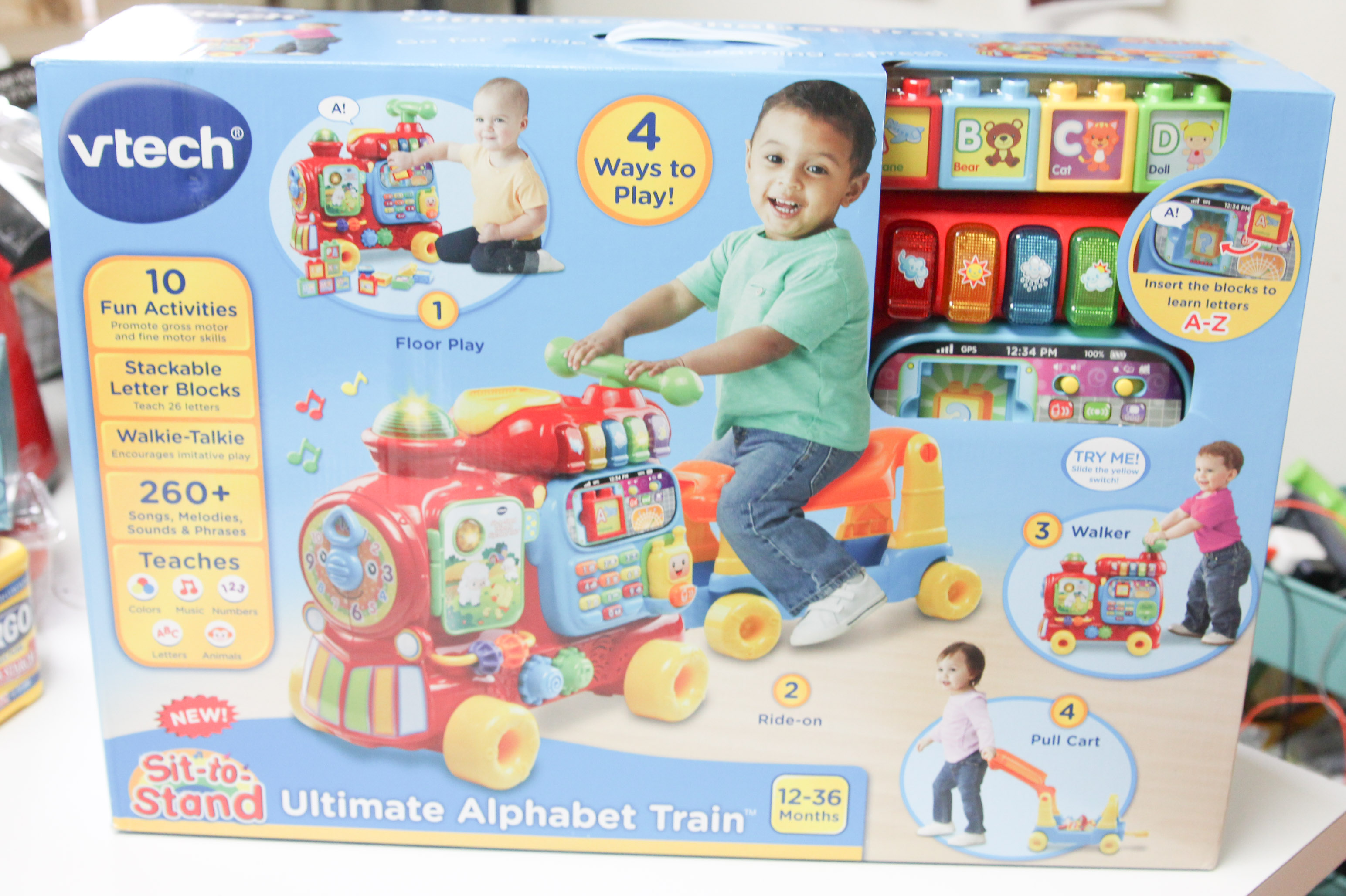 Get on the Learning Train with VTech Sit to Stand Ultimate