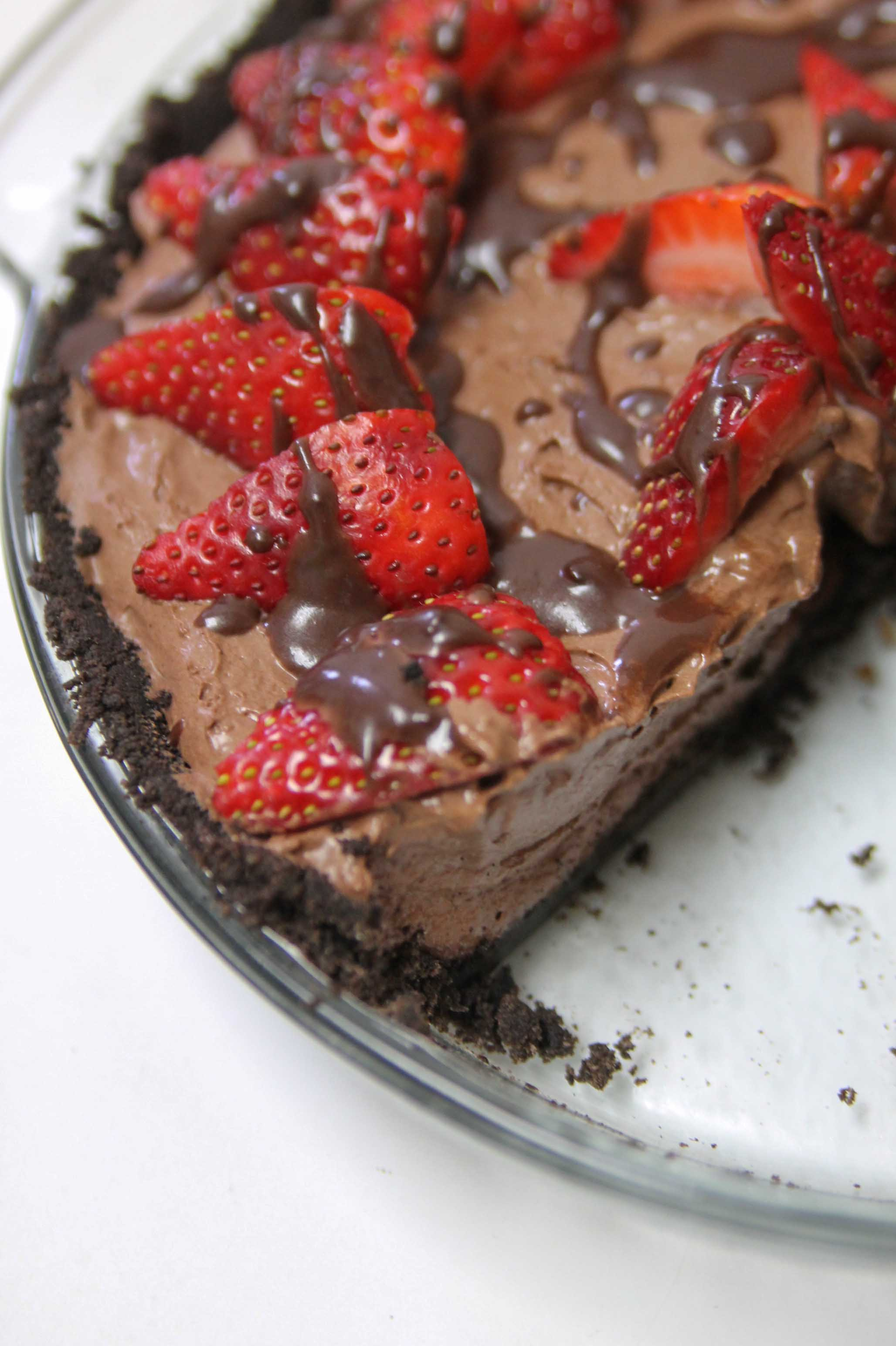 Strawberry Chocolate Pie-1