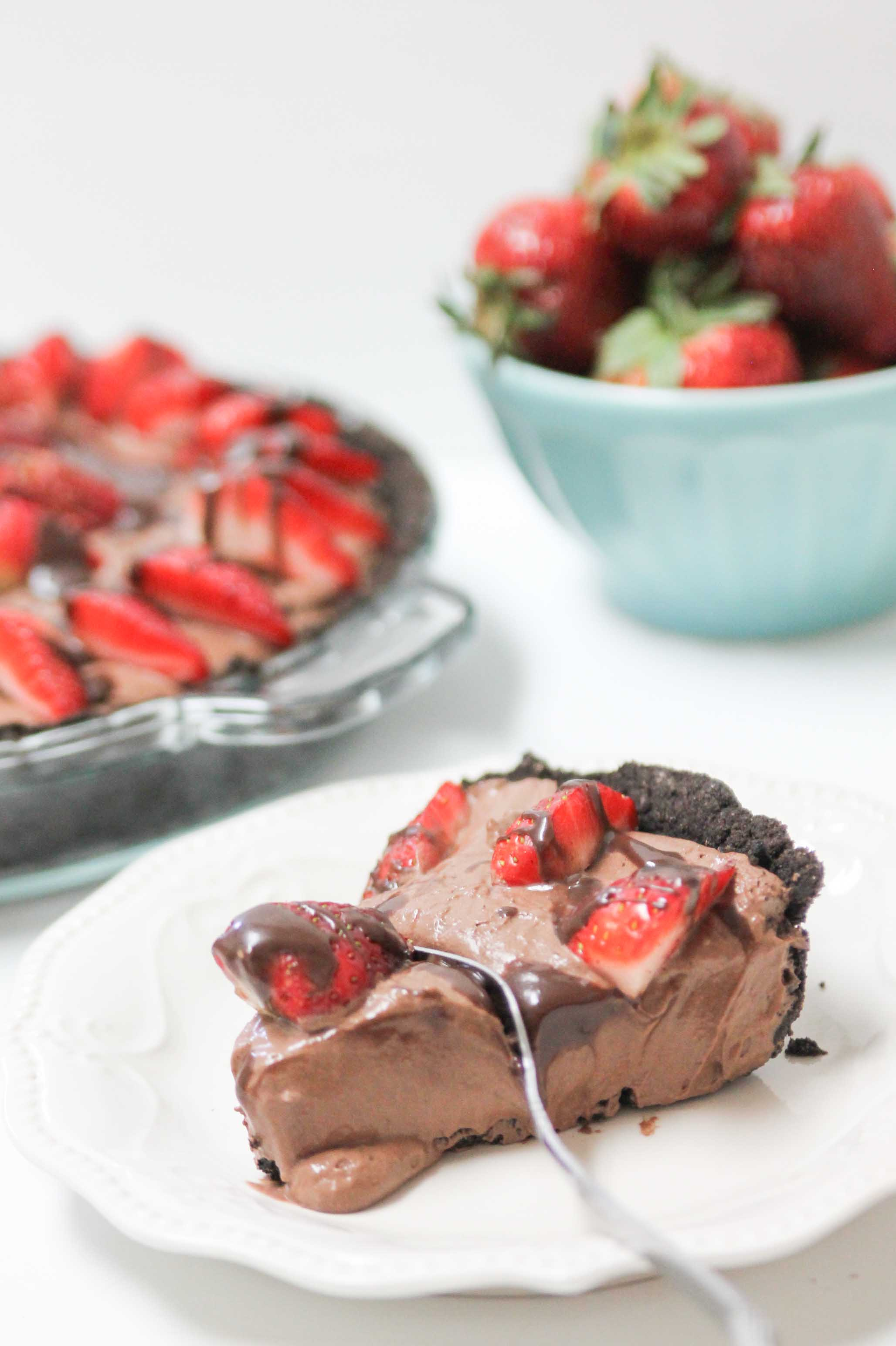 Strawberry Chocolate Pie-3