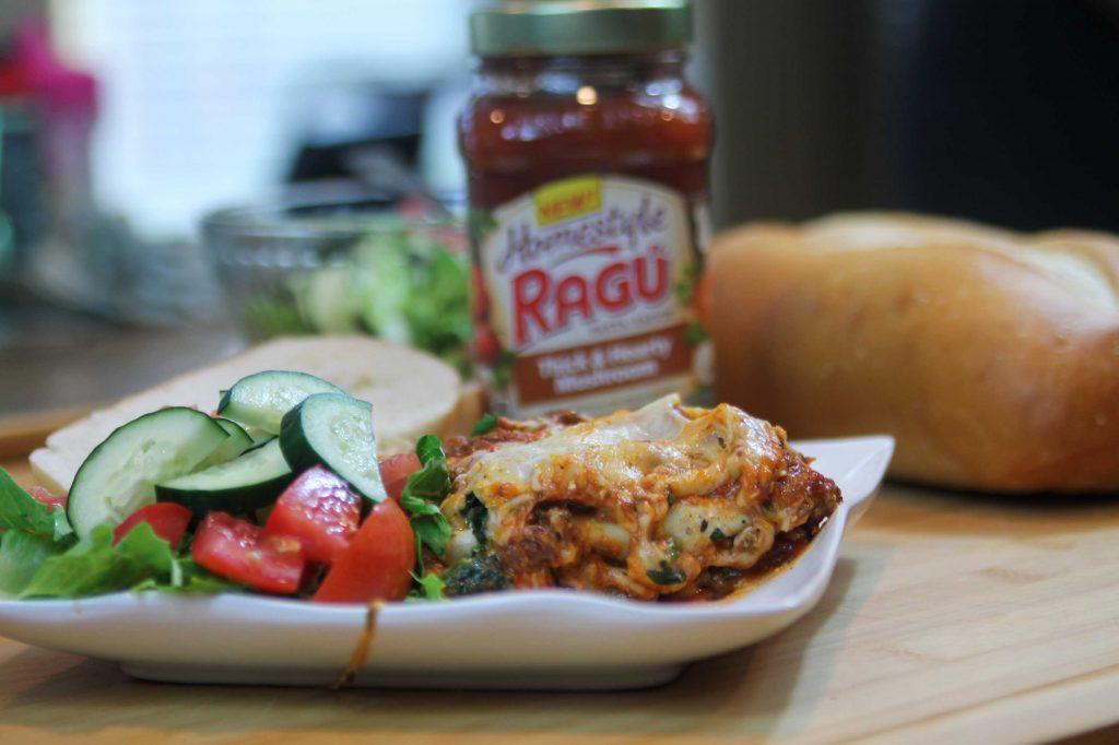 Ragu Homestyle Four Cheese Lasagna-4
