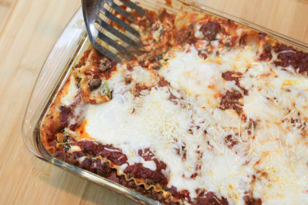 Ragu Homestyle Four Cheese Lasagna-6