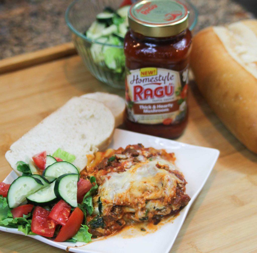 Ragu Homestyle Four Cheese Lasagna-7