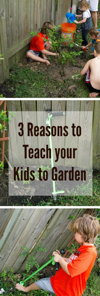 Reasons to teach your kids to garden