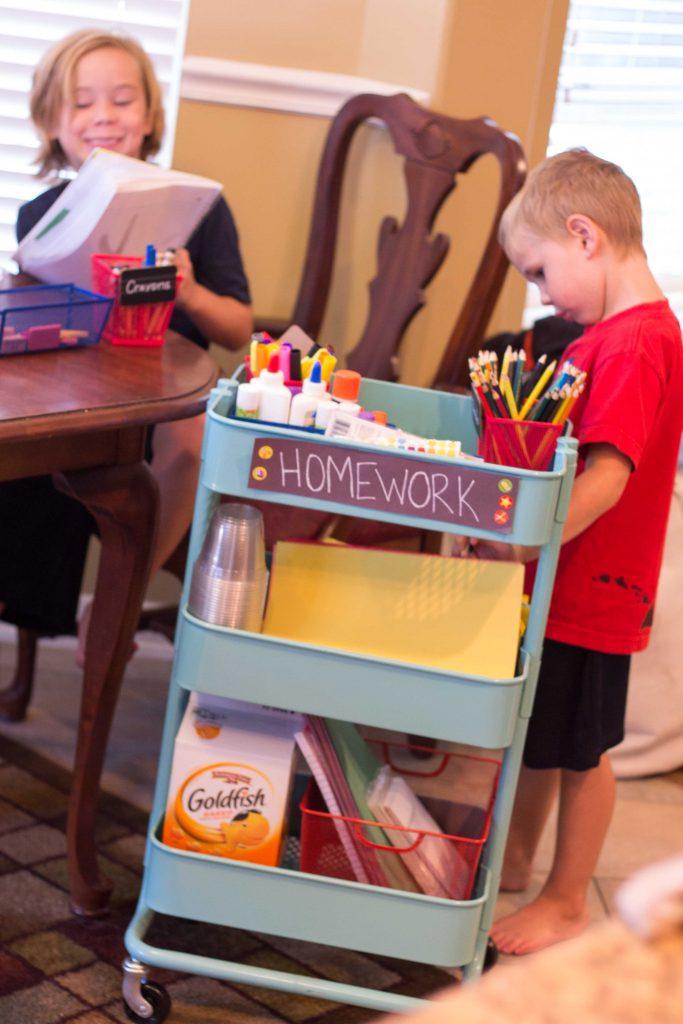 Mobile Homework Station-15