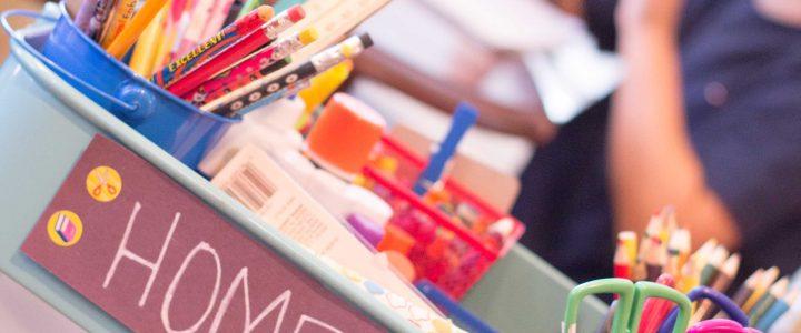 Create a Mobile Homework Station