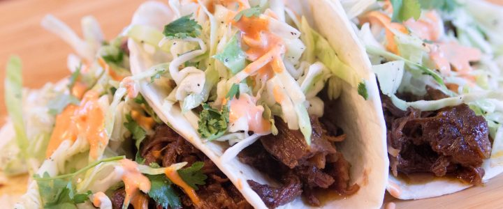 Korean BBQ Street Tacos