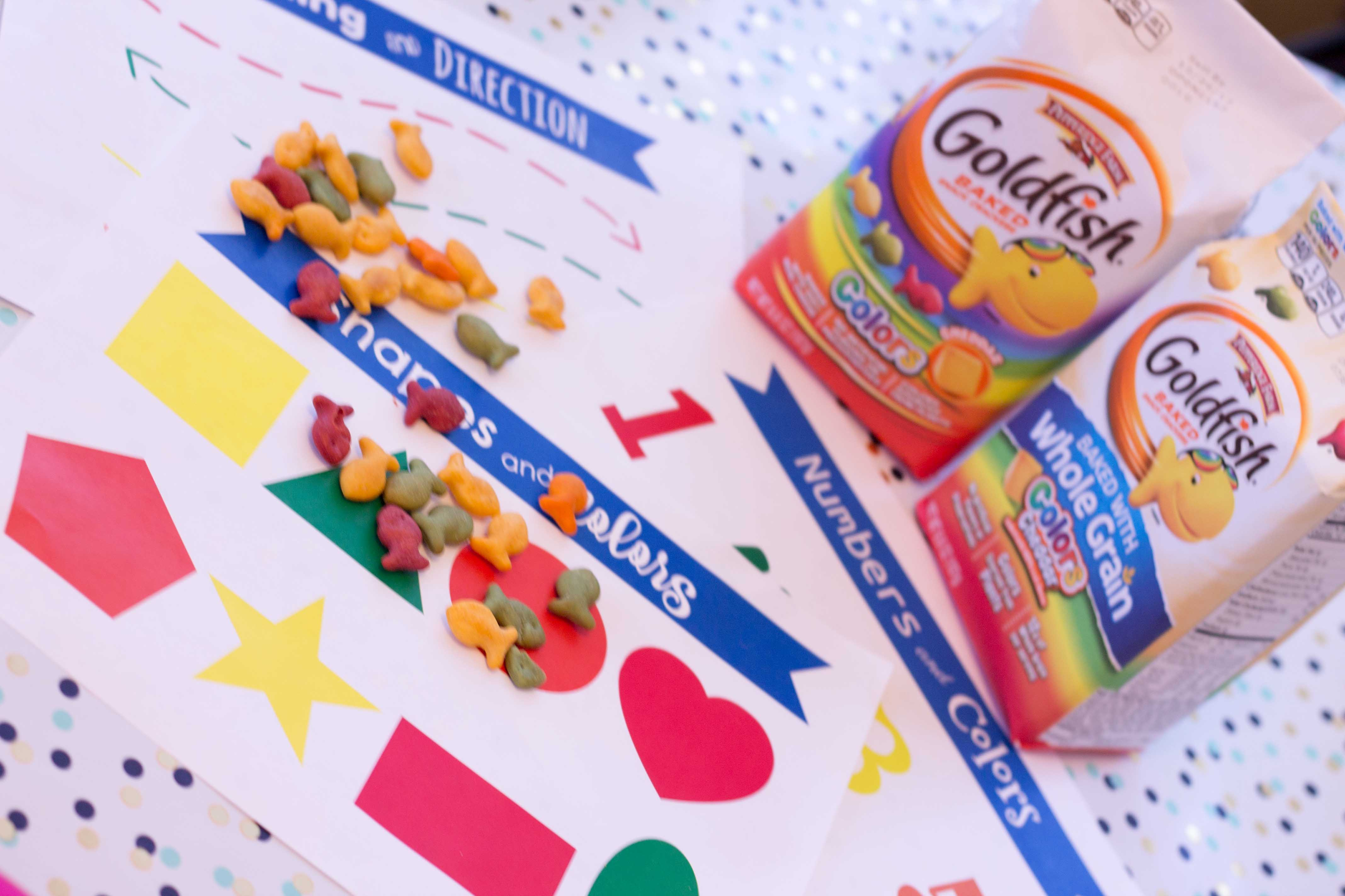 FREE Printable Learning Placemats for Snack Time Fun