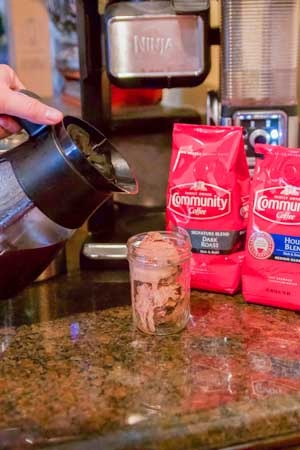 5 Coffee Hacks for Moms & Mocha Affogato Recipe